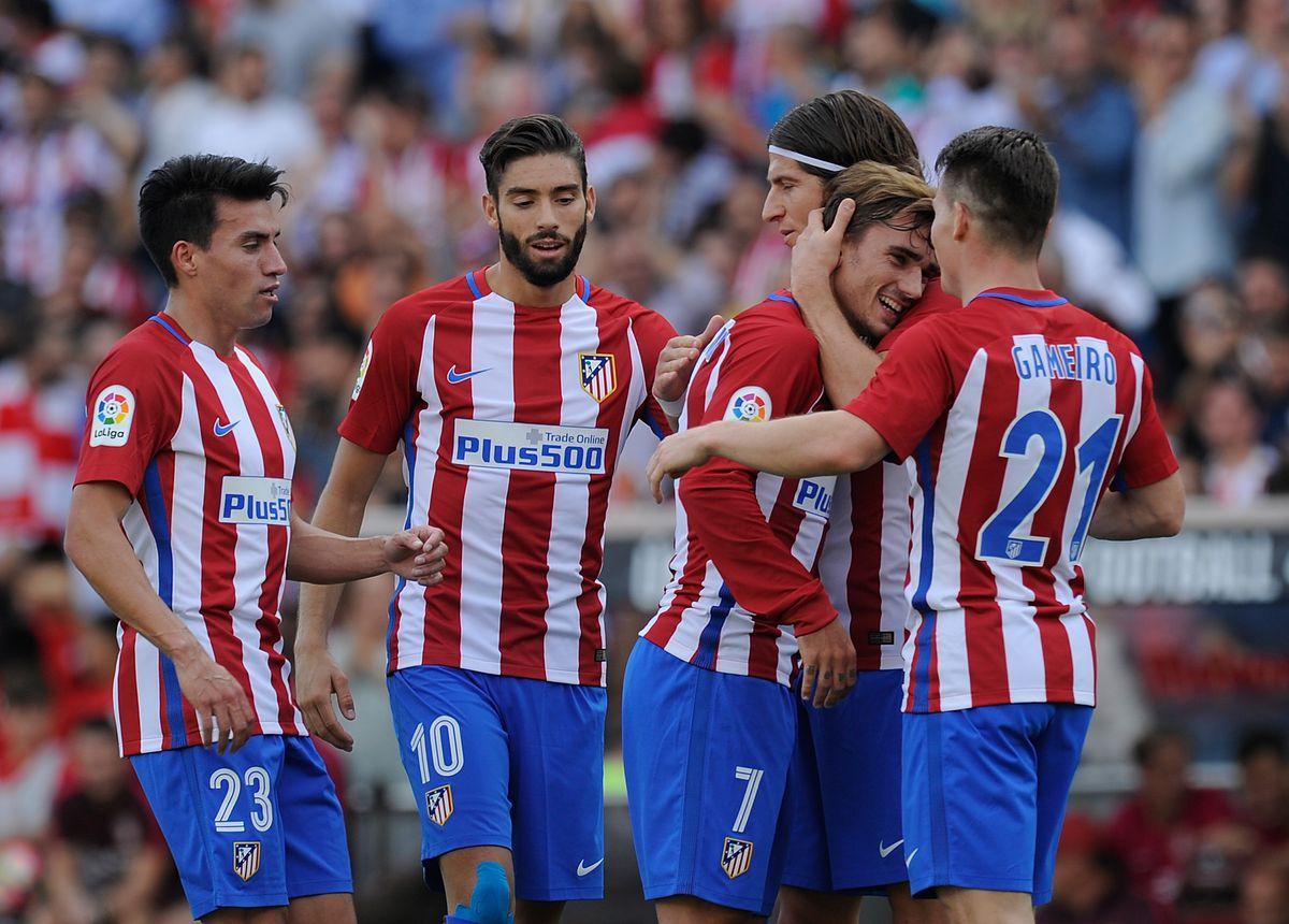 Club Atletico de Madrid v Real Sporting de Gijon - La Liga