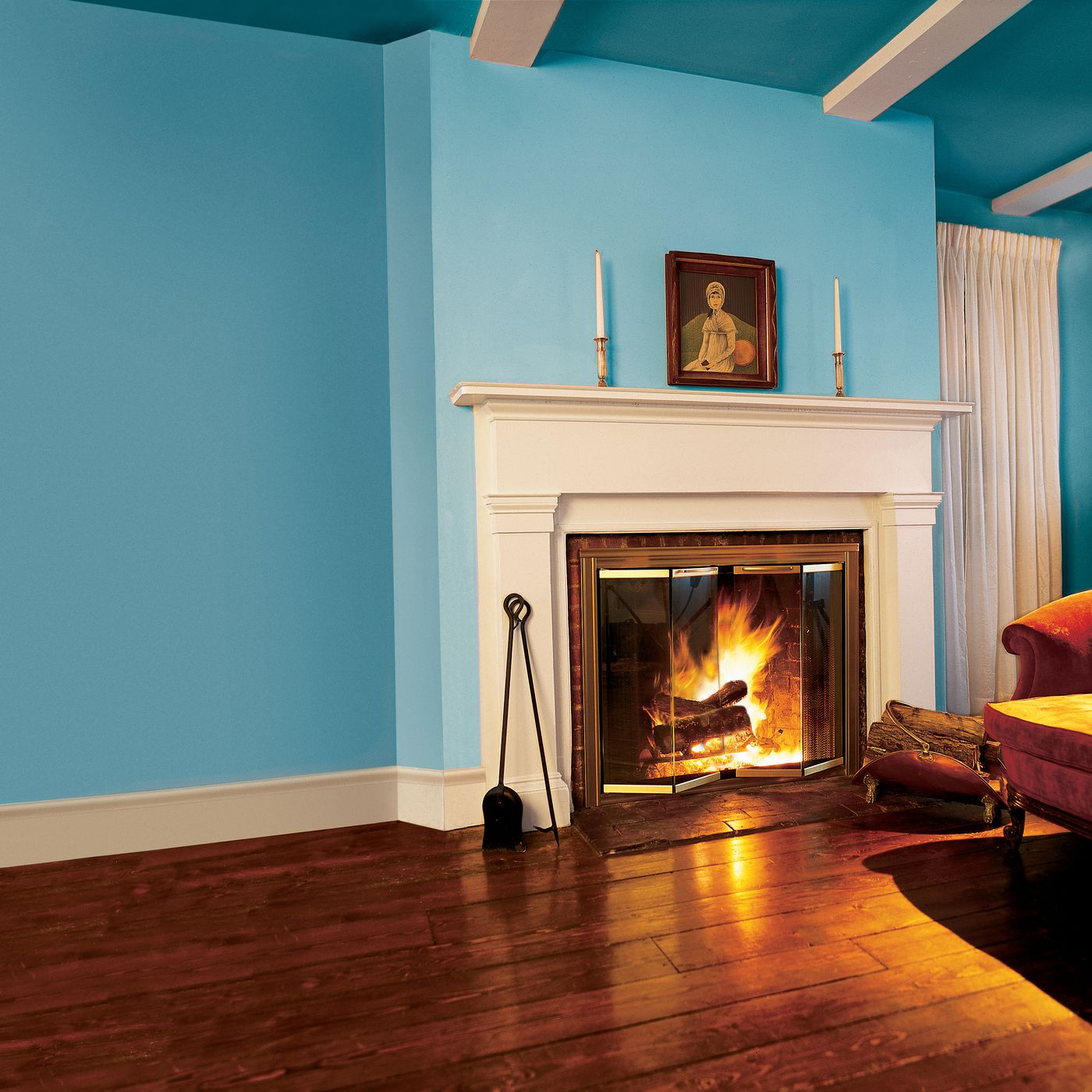fireplace doors with blower