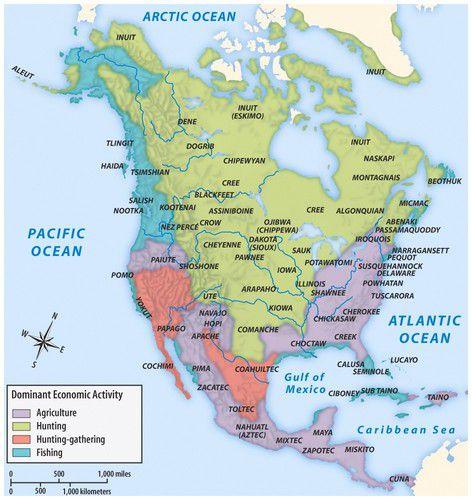 Economic activity in pre-Columbus North America