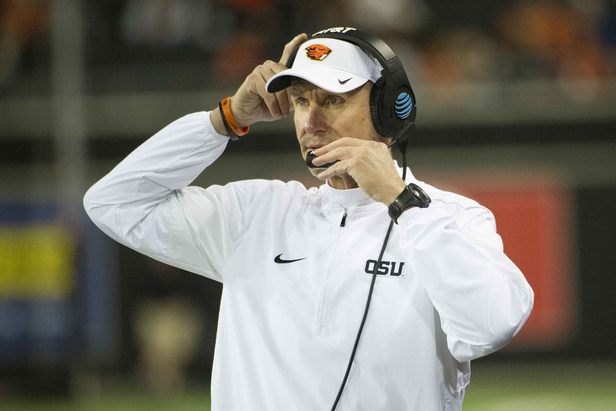 Oregon State Football Coach Gary Anderson Parts Ways With Program
