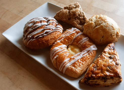 Pastries from Texas French Bread