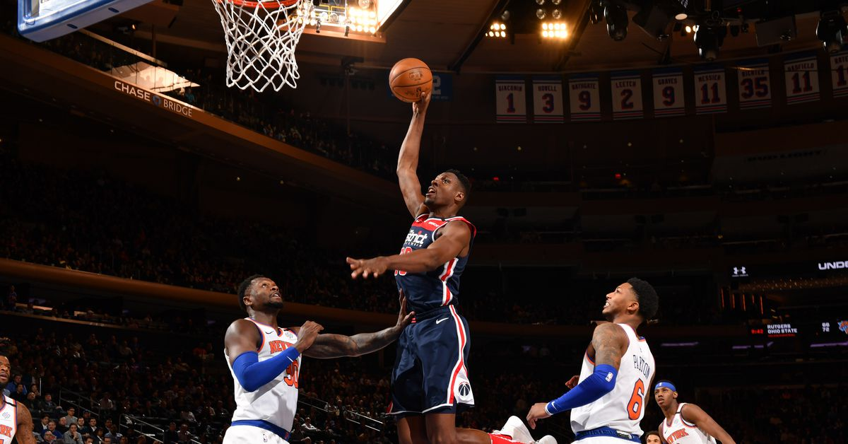"""Wizards 114, Knicks 96: """"Sometimes the door's open doesn't mean you can come in"""""""