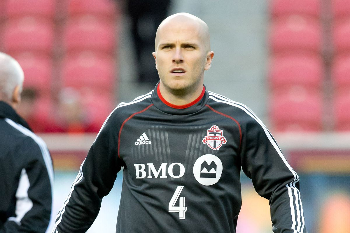 Michael Bradley is rested after the World Cup, and ready to host the Caps tonight.