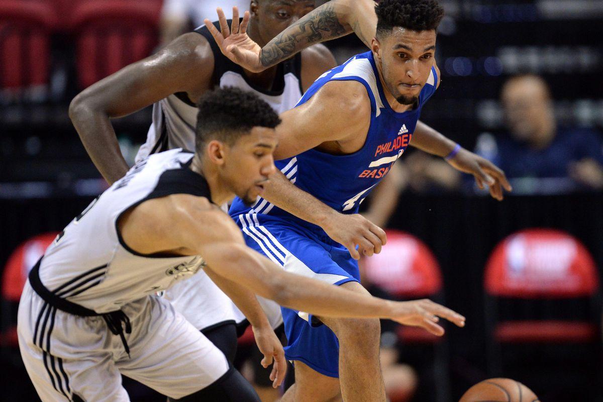 NBA: Summer League-Philadelphia 76ers at San Antonio Spurs