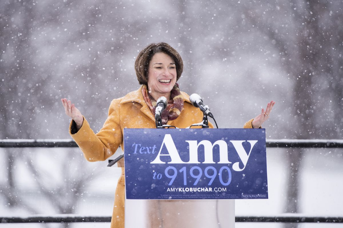 Amy Klobuchar's 2020 presidential campaign