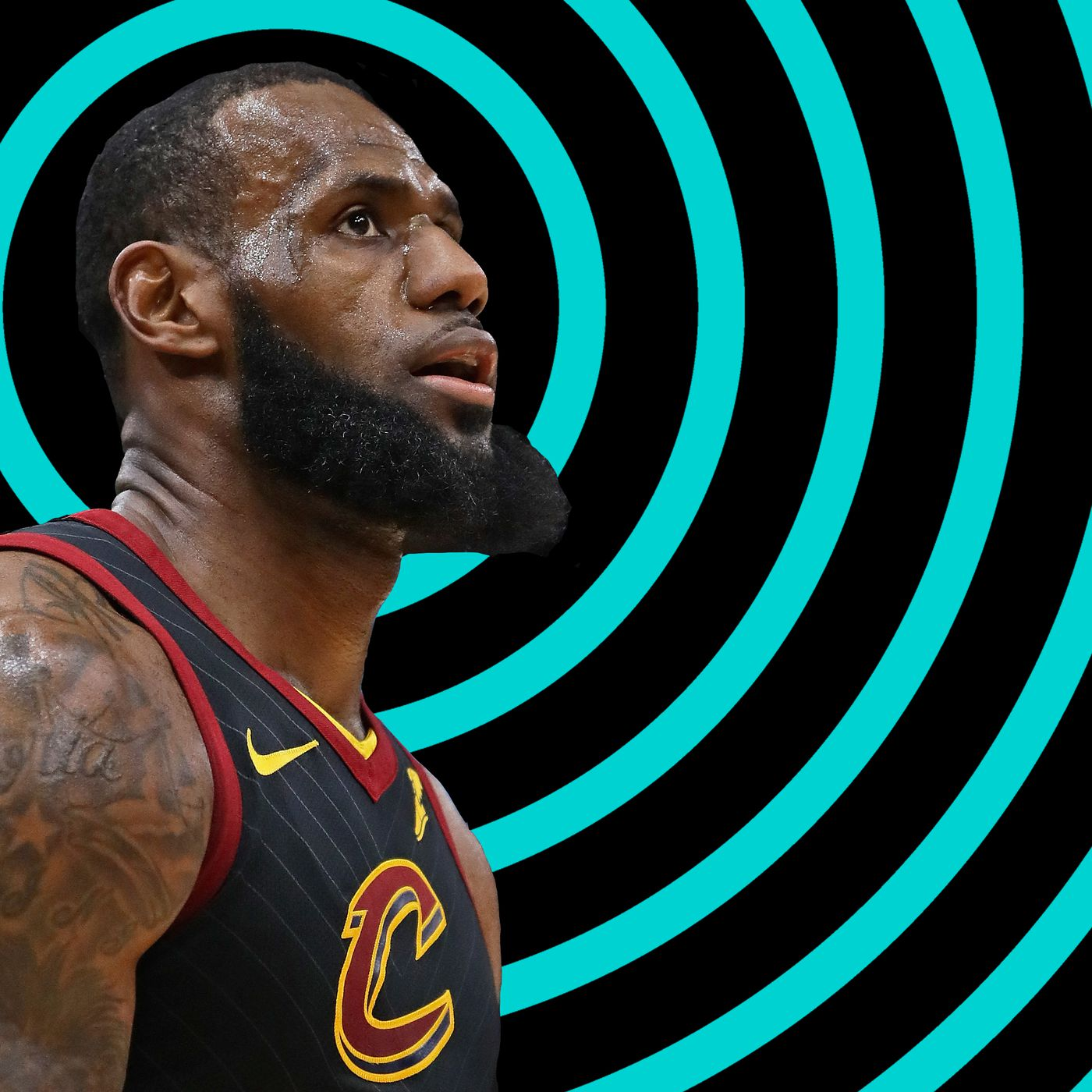 0187d3e49cd LeBron James  It s really all about him with the Cleveland Cavaliers ...