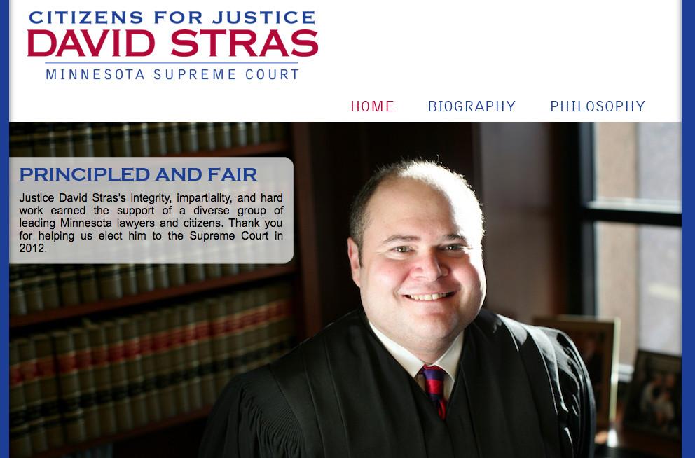 Minnesota Supreme Court Justice David Stras