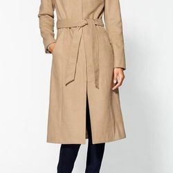 """<a href=""""http://piperlime.gap.com/browse/product.do?cid=51784&vid=1&pid=419101002"""">Kensie</a> Belted Coat at Piperlime, $139.99 (was $189)"""