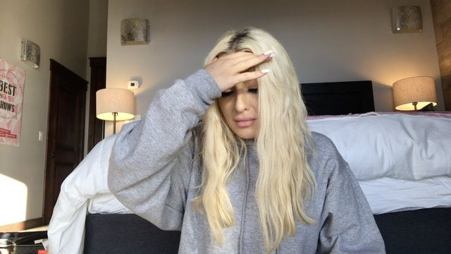 Tana Mongeau in one of her videos.