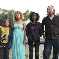 "Lance Grey, Rachel Crow, Ashleigh Murray and David Sullivan appear in ""Deidra & Laney Rob a Train,"" a 2017 Sundance film that was shot in Utah."