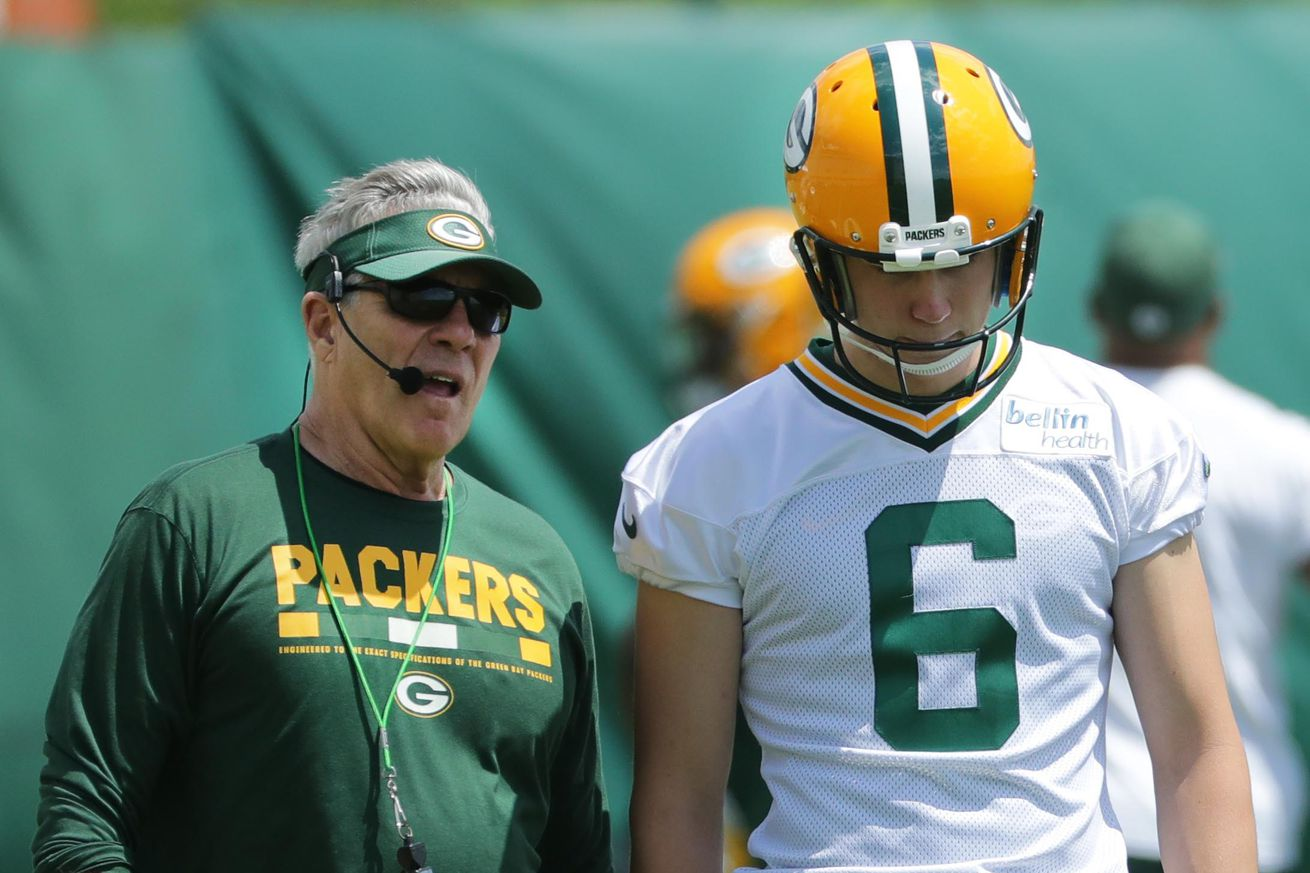 Packers punter JK Scott's transition is going smoothly so far