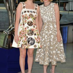 Bee Schafer and Anna Wintour