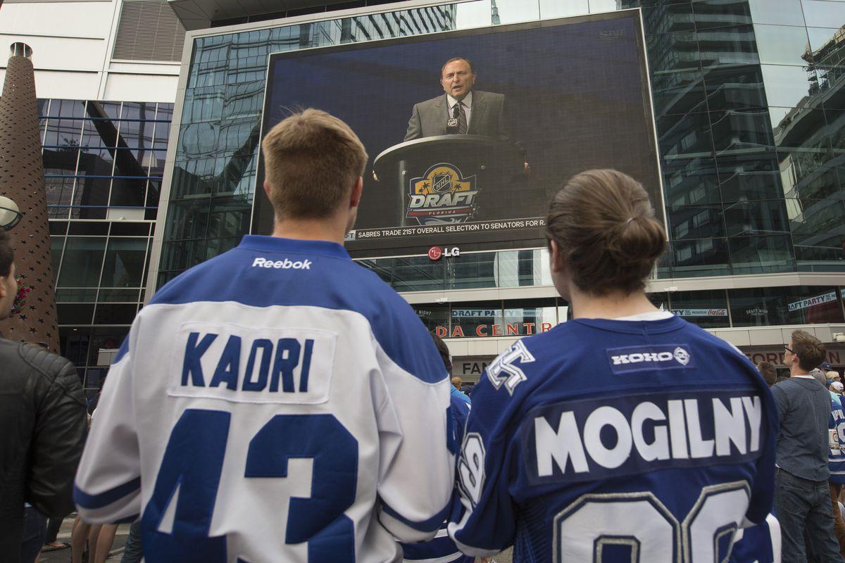 Toronto Maple Leaf fans