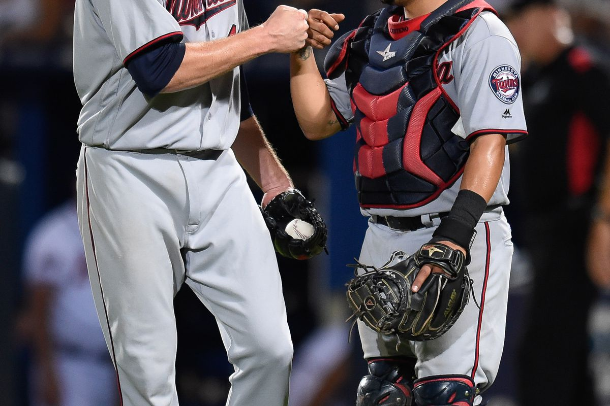 Hopefully these two fist bump again tonight.