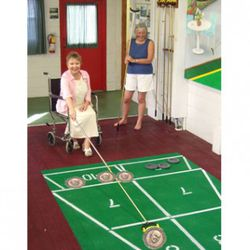 <b>Give it to Old People for Shuffleboard</b>:  Shuffleboard pucks are so easy to lose! Always good to have a few extra ones lying around.