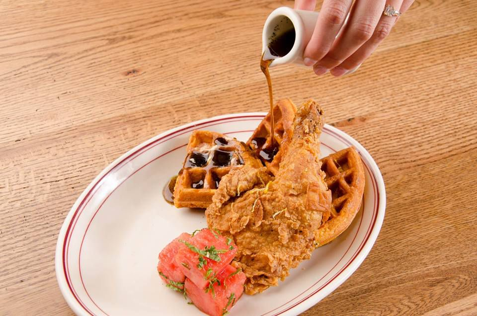 Ida Claire Chicken Waffles