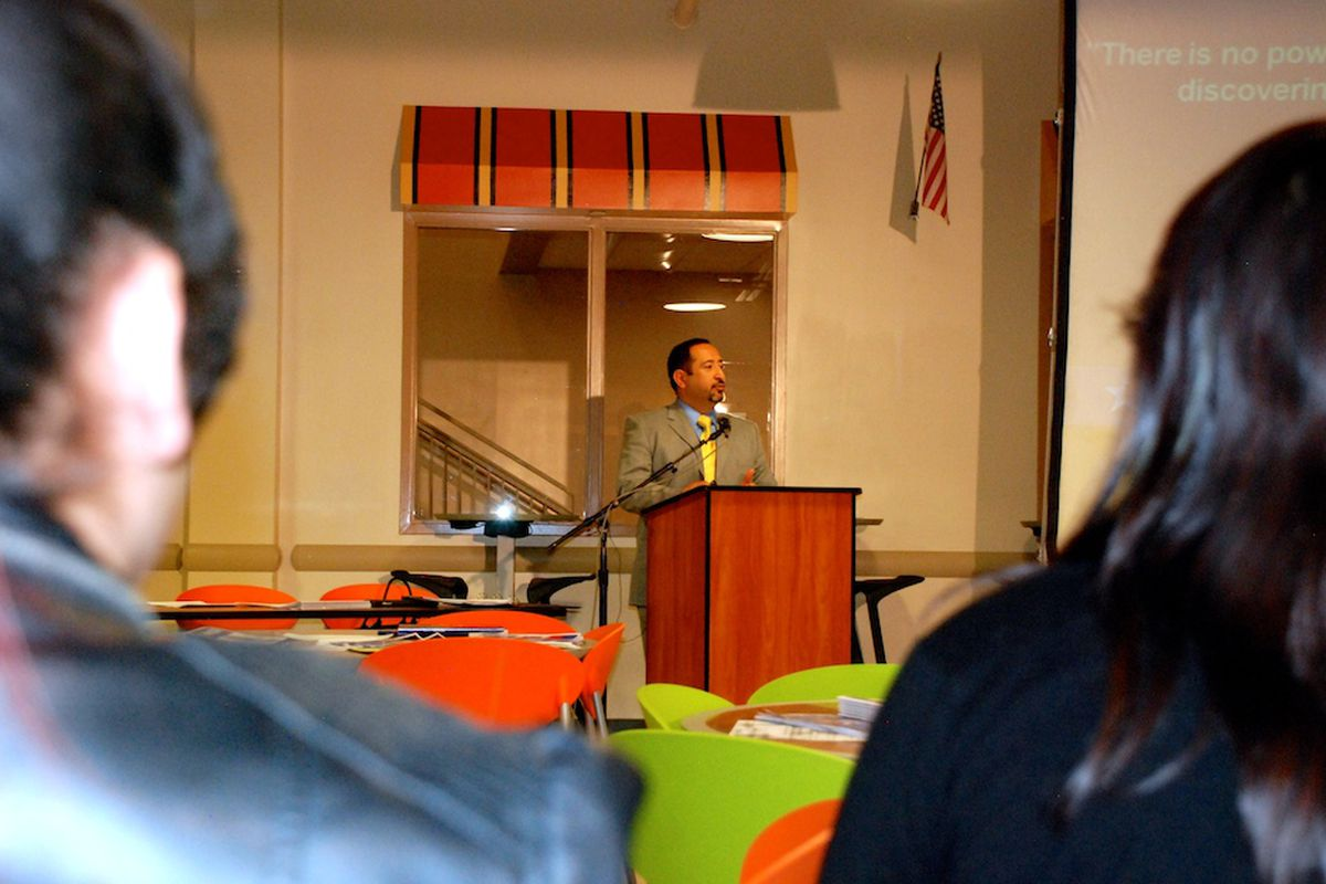 Adams 14 is on an upward trajectory, Superintendent Pat Sanchez told an audience of about 100 Thursday at Adams City High School. But the district needs the help of the community.
