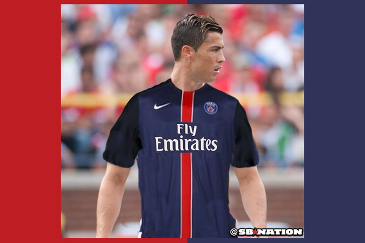 reputable site 0c1e5 f9811 What if Cristiano Ronaldo signed for PSG? His agent is ...