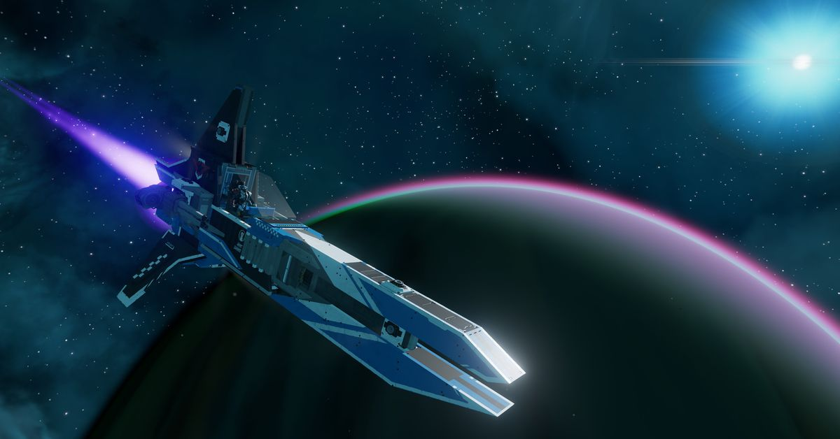 Starbase trailer explains its physics-based space combat, weapons systems