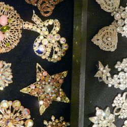 Brooches galore