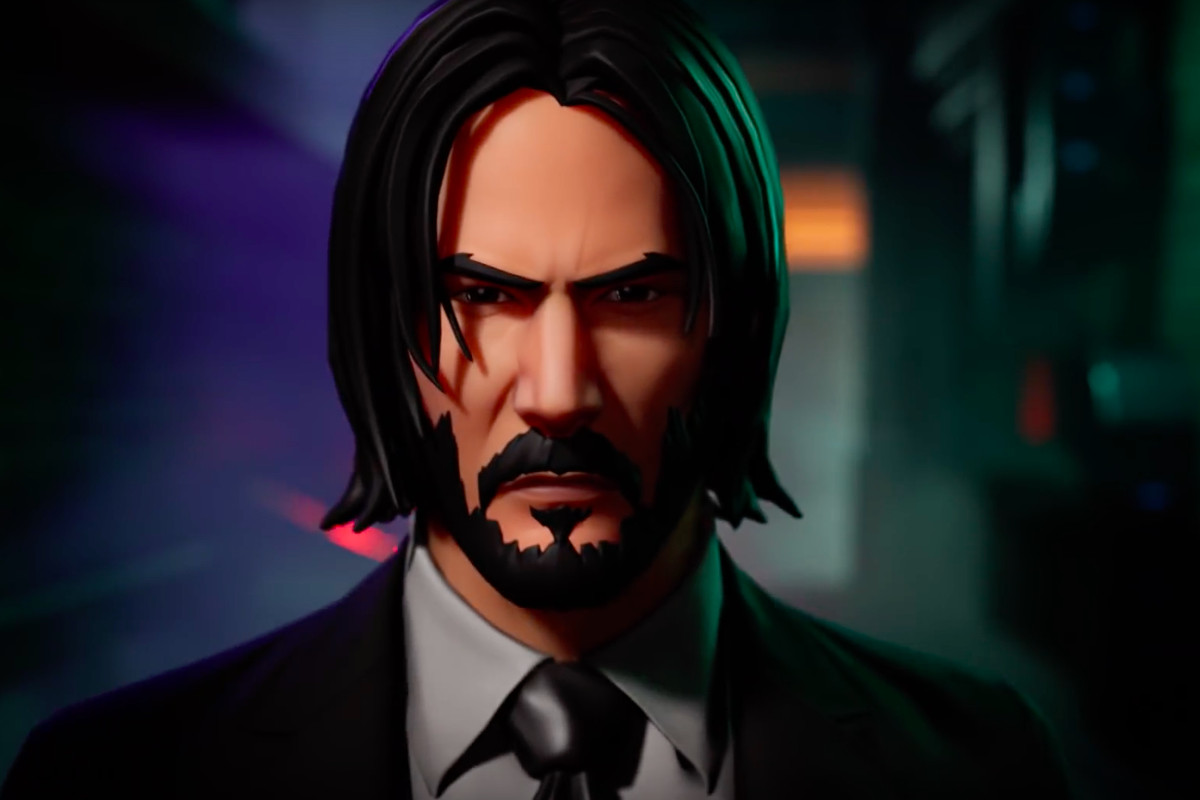 Fortnite S Official John Wick Skin Has Made Things Kinda Awkward Polygon