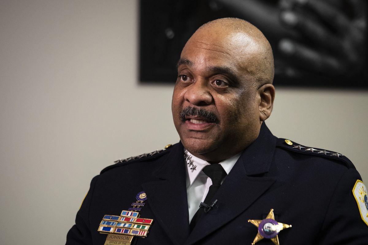 Former Chicago Police Supt. Eddie Johnson