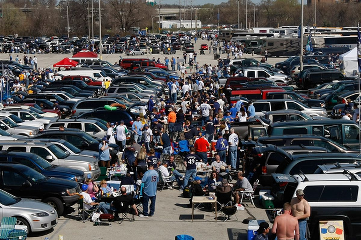 This is a parking lot
