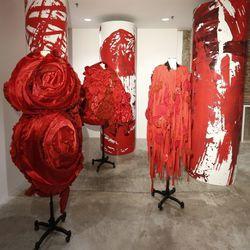 Rei Kawakubo's Blood and Roses Comme des Garçons installation