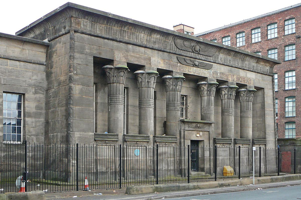 Temple Works in England