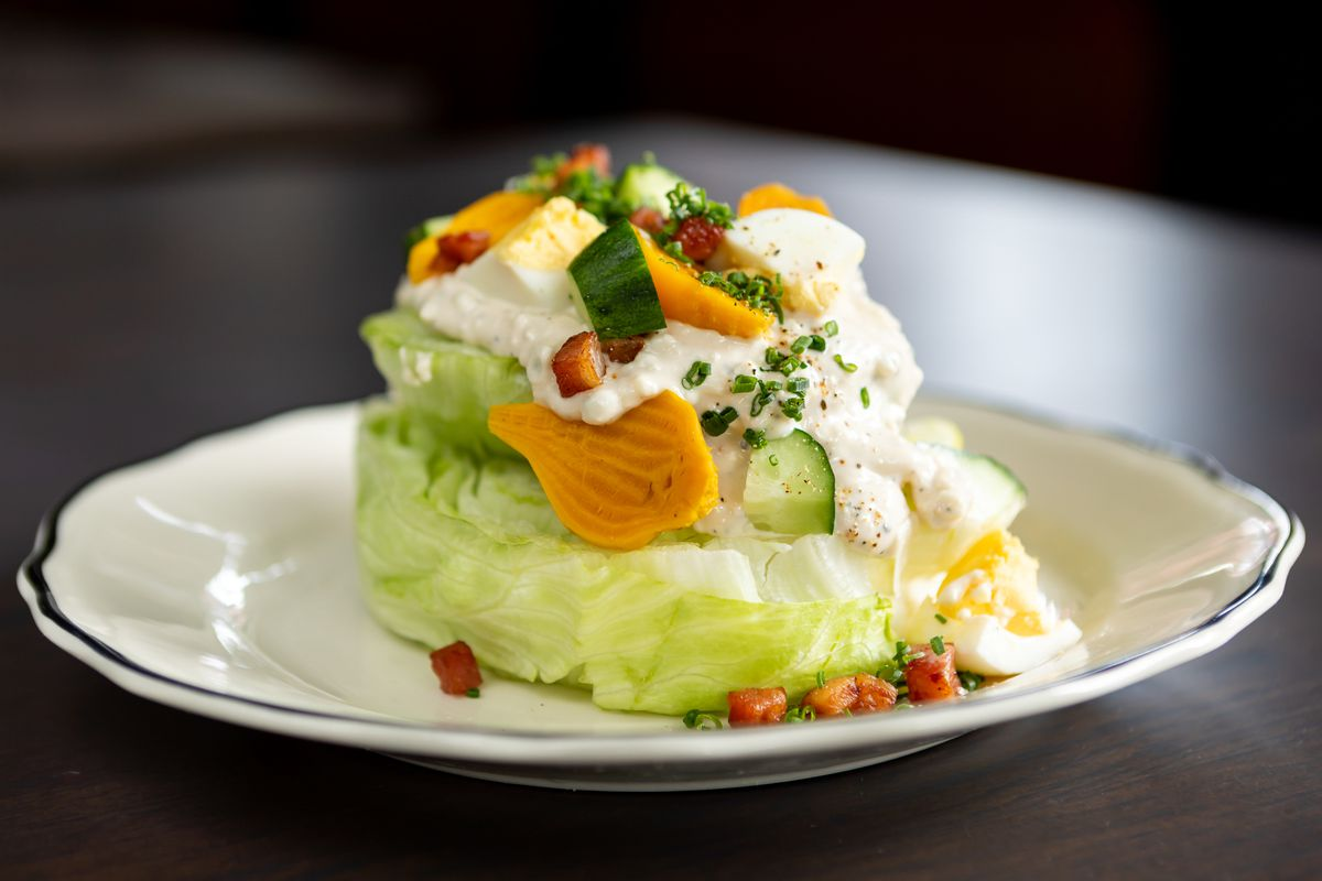 Wedge salad from Mr. Digby's