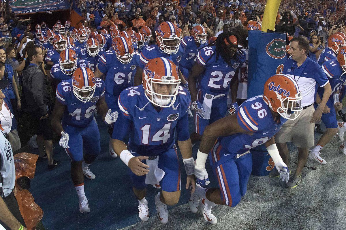 NCAA Football: Massachusetts at Florida