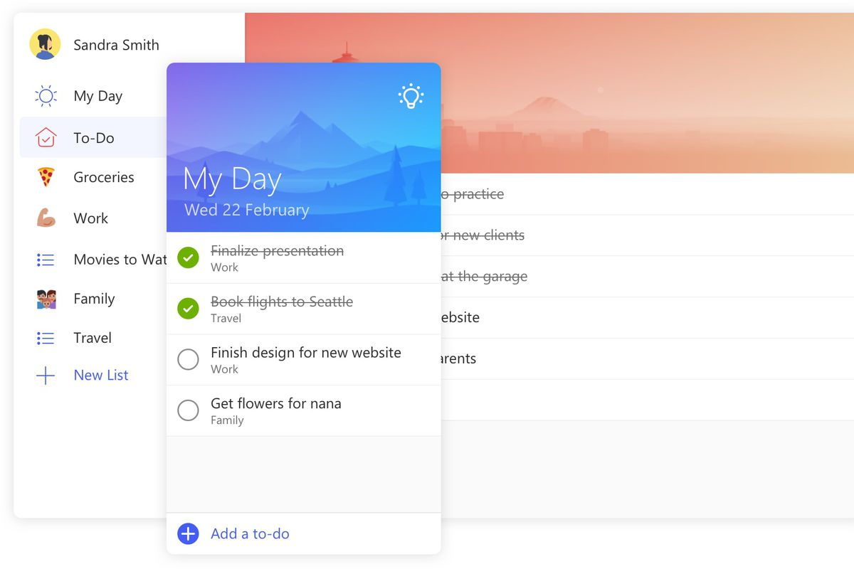 Microsoft To-Do is a new app that replaces Wunderlist - The Verge