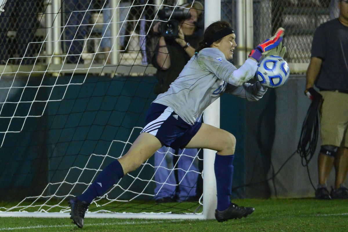Our all-time NCAA recordholder for career shutouts- Katelyn Rowland