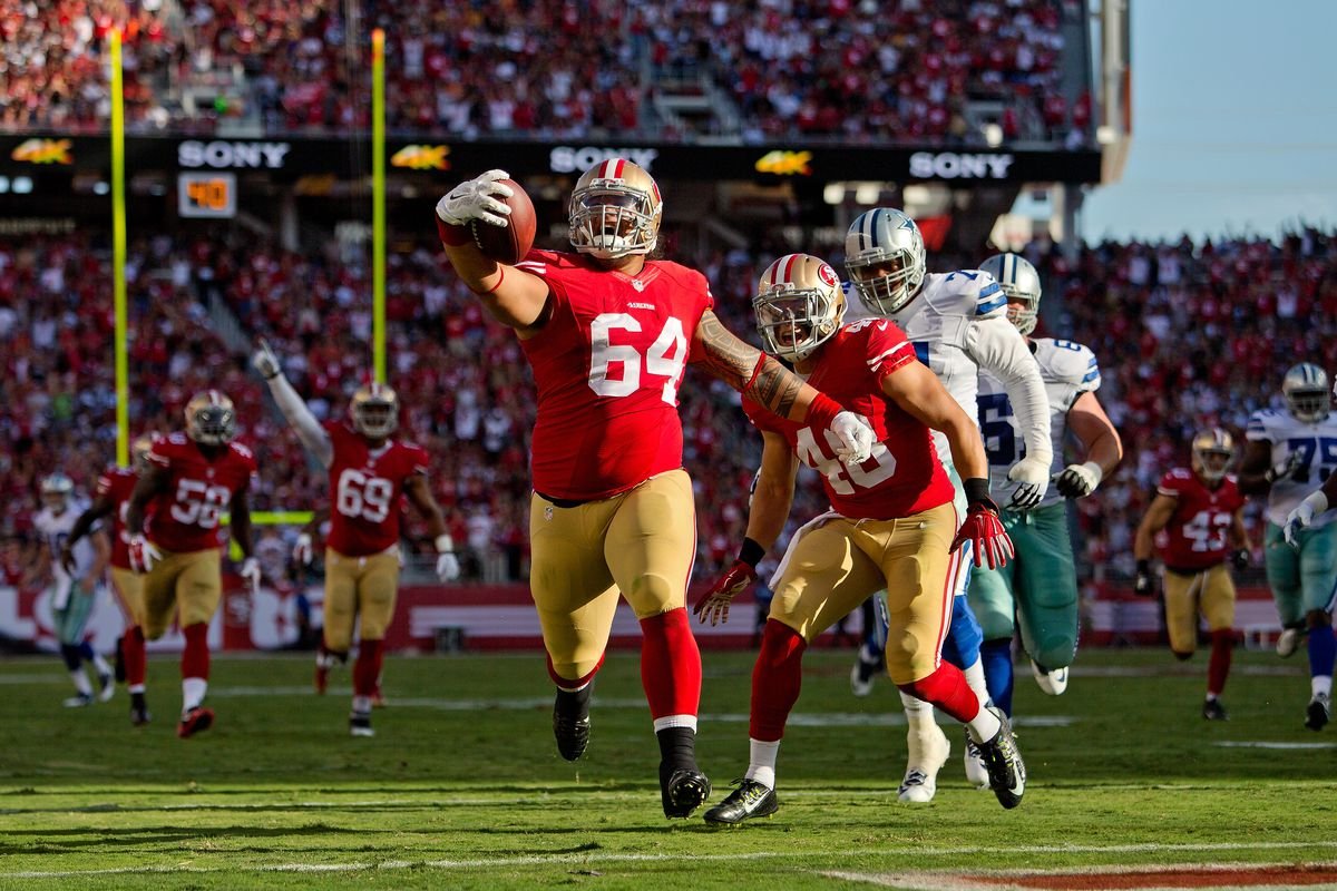 separation shoes 25bd1 87f72 Mike Purcell, DeAndrew White go from longshots to 49ers 53 ...
