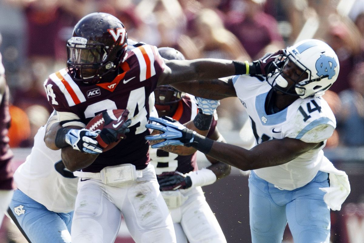 Virginia Tech routs North Carolina 59-7