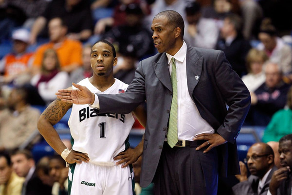 Former UAB Blazers coach Mike Davis is angling for a new start at a little HBCU names Texas Southern.