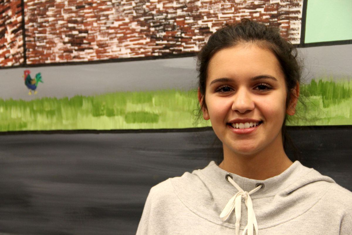 Kingsbury High School senior Marlena Mireles of Memphis is a recipient of the 2015 Keeper of the Dream Award from the National Civil Rights Museum.