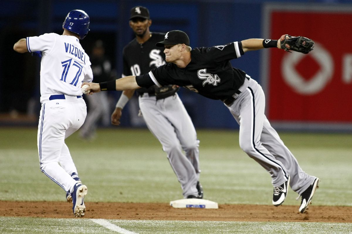 The White Sox brought plenty of defense tonight, but the bats were lacking.