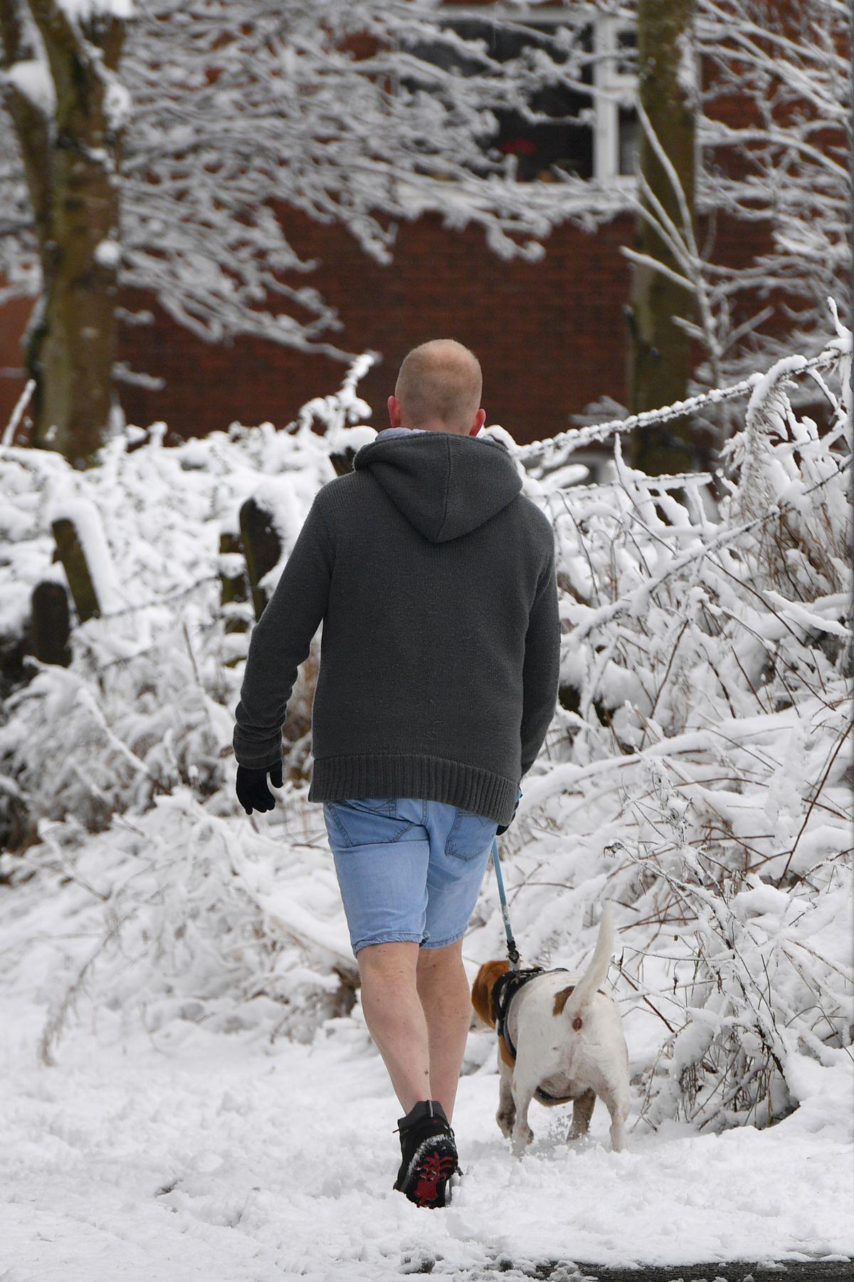 Met Office Issues Heavy Snow Weather Warnings