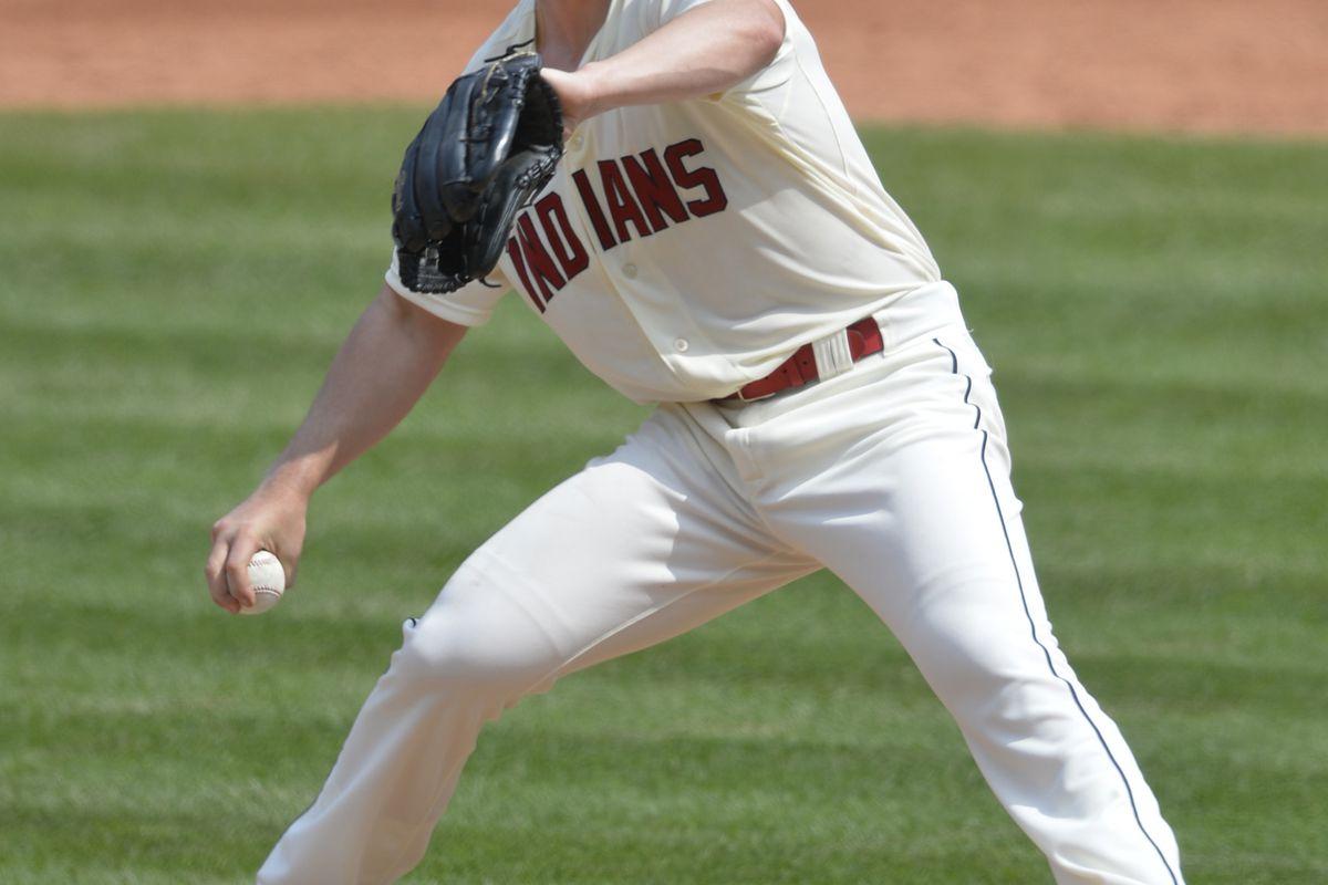 Josh Tomlin tries to continue a streak of fantastic starts.