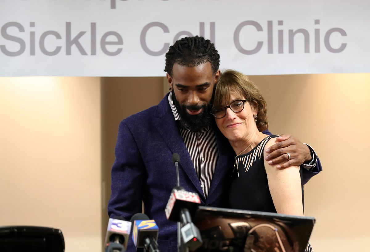 Mike Conley Announcement at Methodist Healthcare Comprehensive Sickle Cell Center