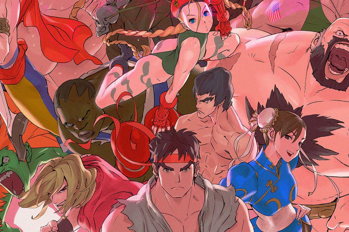 Ultra Street Fighter 2: The Final Challengers character art