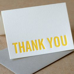 """<a href=""""http://www.etsy.com/listing/54026220/thank-you-cards-letterpress-personalized?ref=sr_gallery_14&ga_search_query=thank+you+card&ga_order=most_relevant&ga_view_type=gallery&ga_ship_to=ZZ&ga_ref=auto2&ga_search_type=handmade""""> Ruby Press letterpress"""