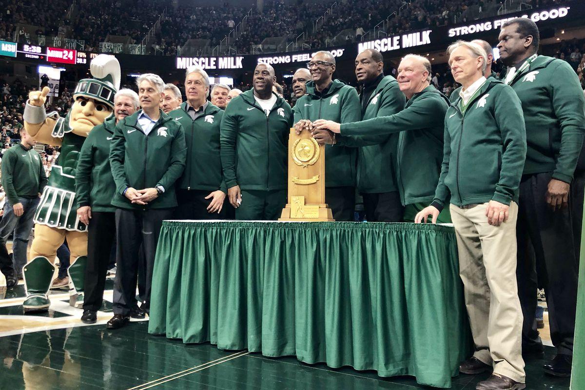 Michigan State basketball celebrates 40th anniversary of 1979 championship