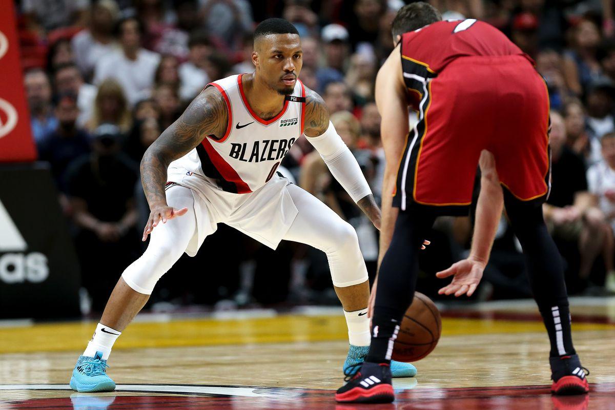 Portland Trail Blazers v Miami Heat
