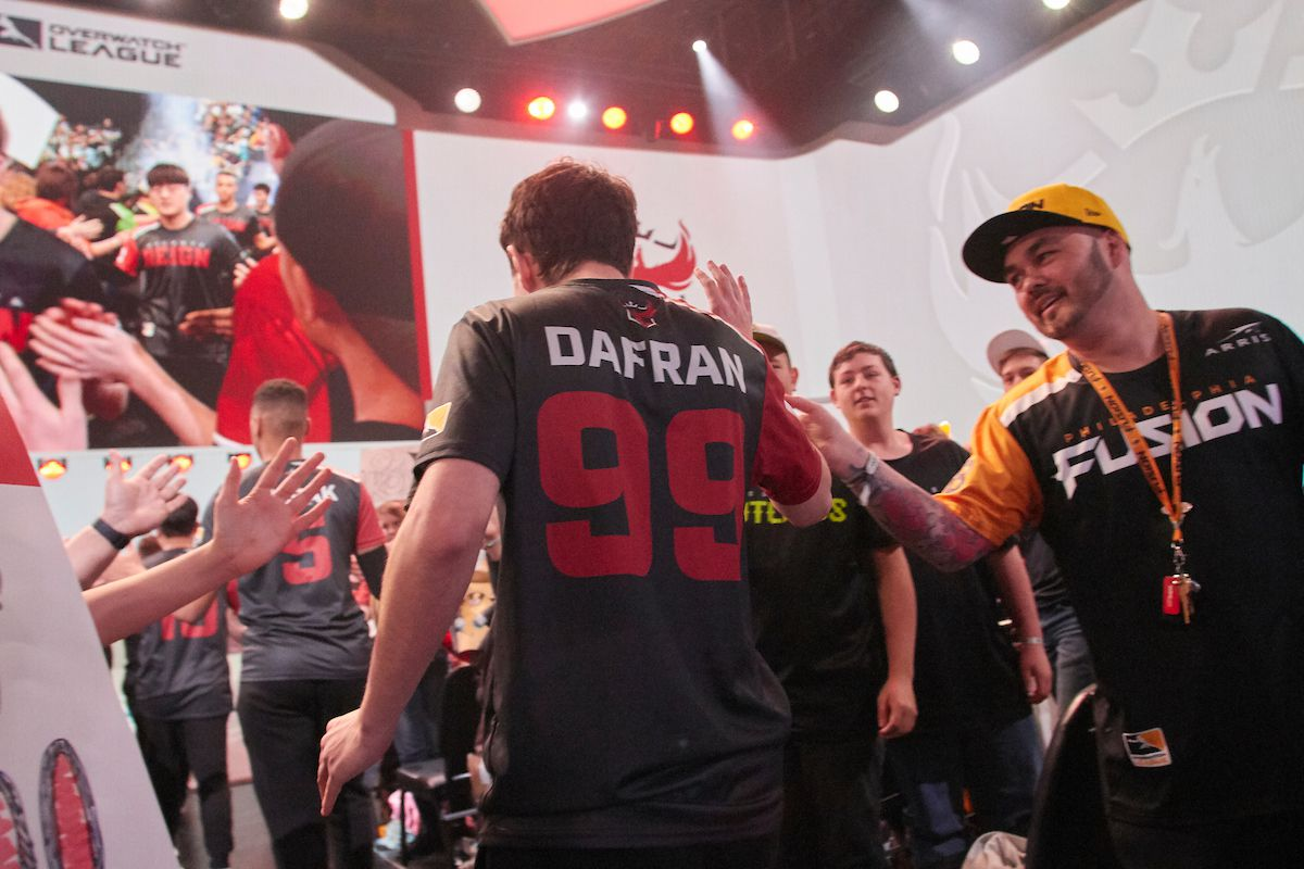 Where does mental health meet performance in the Overwatch League?