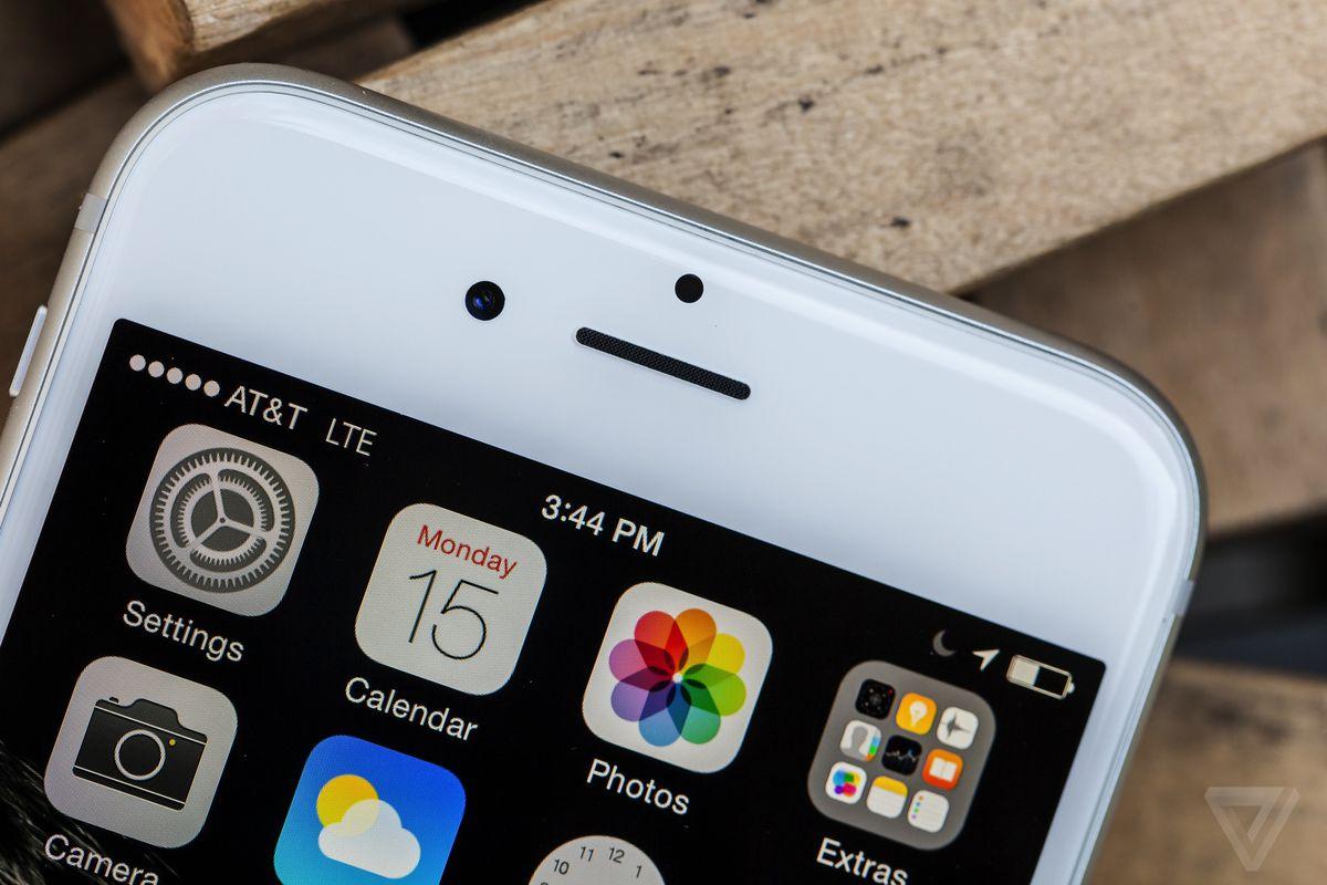 iOS 8 on the iPhone 6