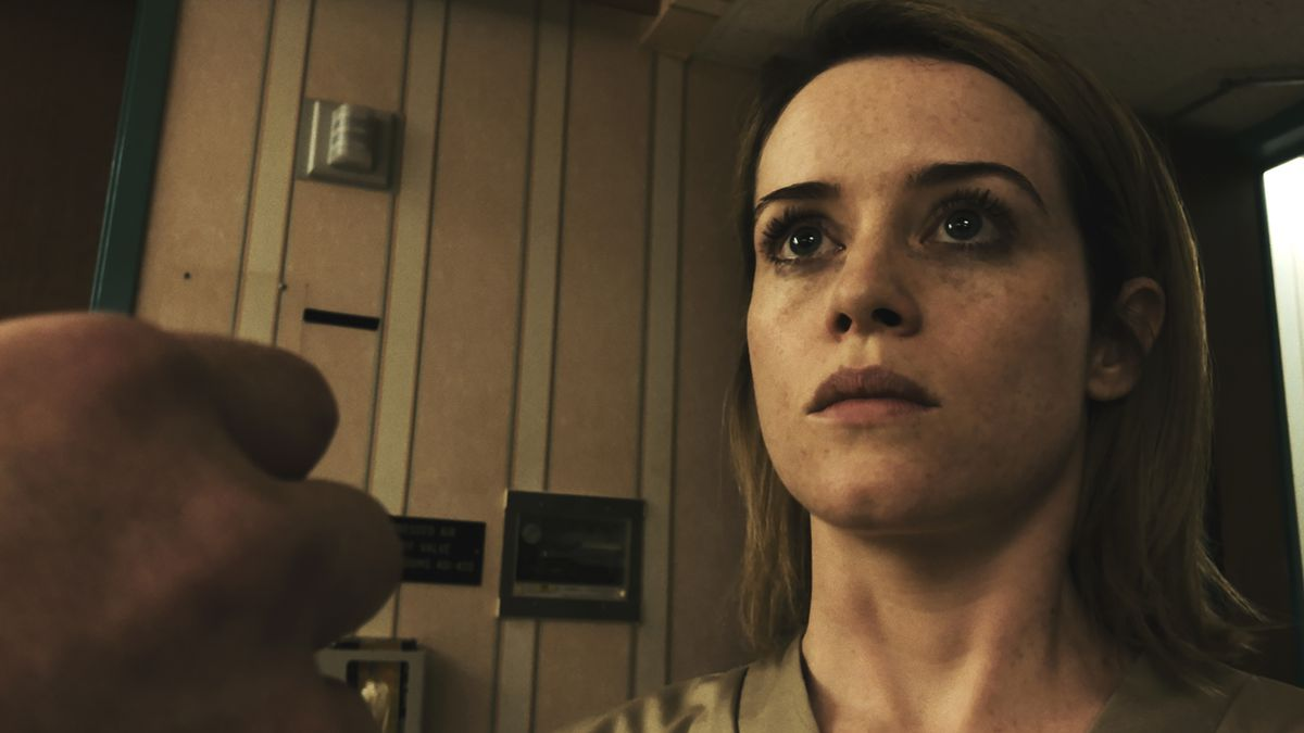 Claire Foy in Unsane, which Soderbergh shot on iPhones.