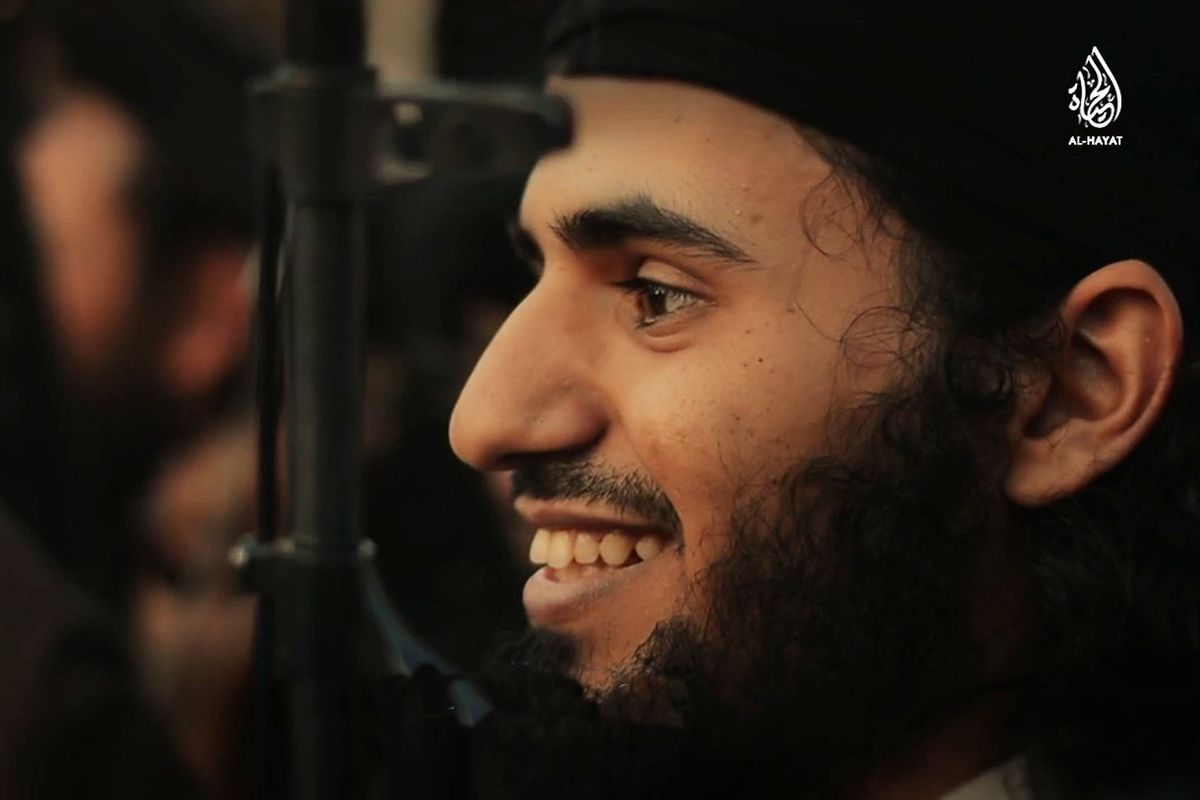 An ISIS fighter from a propaganda video.