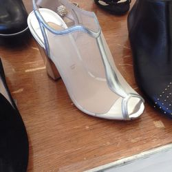Sexy sheer shoes, $300